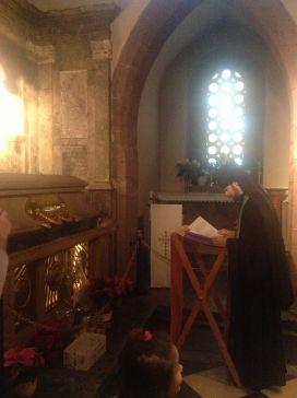 Молебен у раки святой Одилии